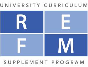 University curriculum supplement program
