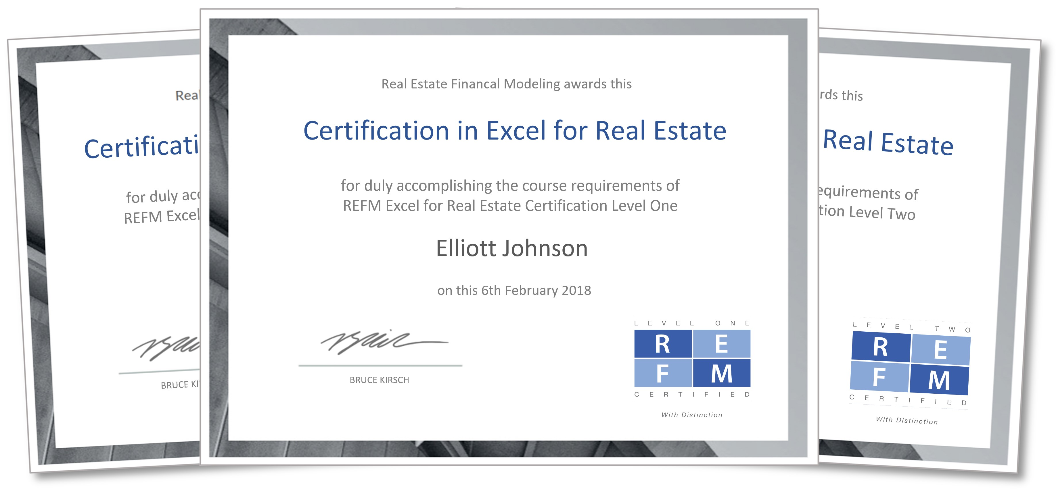 REFM Certification Program In Excel For Real Estate | Real